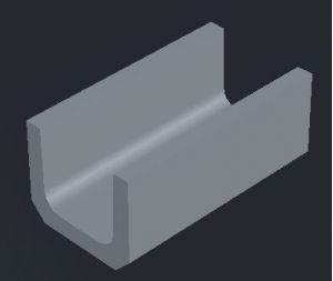 上ぶた式U 形側溝